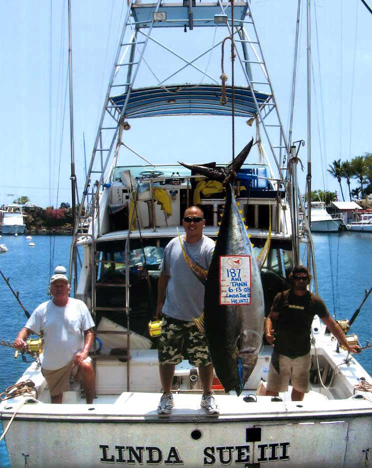 Hawaii fishing hawaii shark fishing kona charter fishing for Kona fishing charters